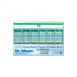 Conuri hartie gradate asortate 015-040 (alb - negru) Dr.Mayer