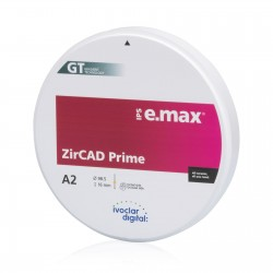 DISC e.max ZirCAD Prime 98.5 x 16mm Ivoclar Vivadent