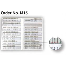 Freze Sample Case with 250 pcs. FG Diamonds M15