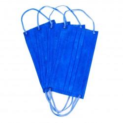 Masca Medicala 4 Straturi Dr. Mayer Ink Blue 50 bucati